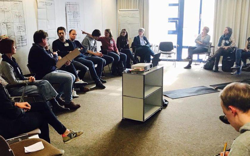 Fachaustausch Faire Kita und Fairtrade Schools in der Stadthalle Hiltrup.