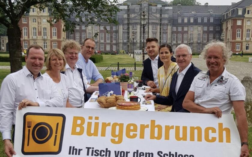 Bürgerbrunch 2021 Münster Pressegespräch
